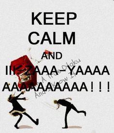 Durarara - Keep calm! Durarara, Izaya Orihara, Shizaya, Manga Anime, Anime Meme, Otaku Anime, Rin Okumura, Geeks, Natsume Yuujinchou