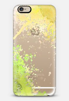 Paint Splash Yellow iPhone 6 case by Sarah Davies | Casetify