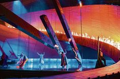 De Nederlandse Opera's Ring Cycle. Production by Pierre Audi. Sets by George Tsypin.: