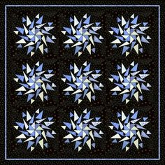 = free pattern = Flying Geese Kaleidoscope design by Wilma Karels (The Netherlands).  The foundation pattern can be downloaded here: http://www.wilmakarels.nl/blokken.php?blokID=91