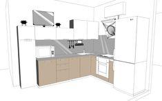 Кухня Эскиз Kitchen #Kitchen