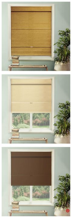 Window Treatment Ideas For Outside Mount and Pics of Interior Design Window Treatments Ideas. House Blinds, Blinds For Windows, Windows And Doors, Sunroom Windows, Shutter Blinds, Kitchen Windows, Window Blinds, Bay Window, Window Coverings
