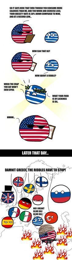 The Greek Riddle IT WASN'T GREECE FAULT!!