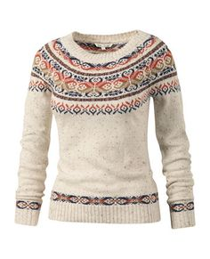 Denny Yoke Fairisle Jumper at Fat Face. It's a bit like Linden from the Killing and I love it.