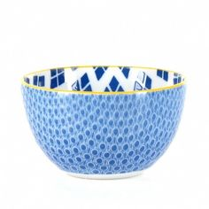 Bowl Double Decal Coral @ Husk