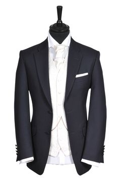 Hanbury Navy Lounge Suit