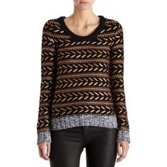 Rag & Bone Lisabeth Sweater: paired with leather pants, killer