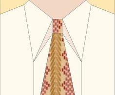 necktie quilts - information about how to prepare ties for quilting