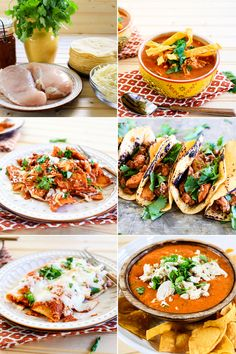 Mexican 5 in 5 || 5 ingredients, 5 different Mexican meals. Love it.