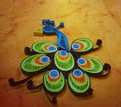 #quilling #peacock
