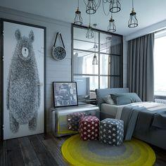 Loftушка - Лучший дизайн спальни | PINWIN - конкурсы для архитекторов, дизайнеров, декораторов
