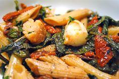 Healthy Shrimp Pasta