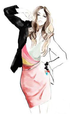 Oops Fashion Illustration Studio