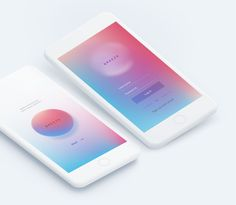 Breeze - Voice only SNS on Behance Web Design, App Ui Design, User Interface Design, Mobile App Design, Mobile Ui, Food Branding, Apps, Splash Screen, Design Tattoo
