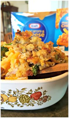 Make the whole family happy with this Quick Dinner Casserole using KRAFT Mac & Cheese — EasyKraftMeals AD