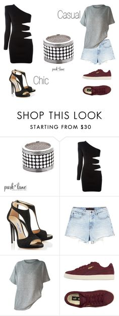 """""""My Park Lane Style"""" by parklanejewelry on Polyvore featuring Balmain, Alexander Wang and Puma"""