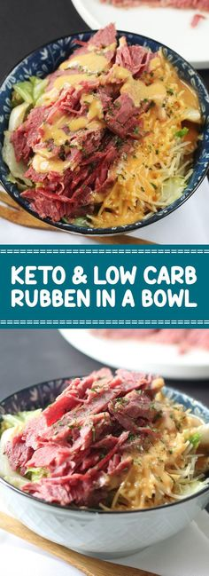 Keto & Low Carb Ruben In A Bowl Recipe | Grace Food #lowcarb #lowcarbrecipes