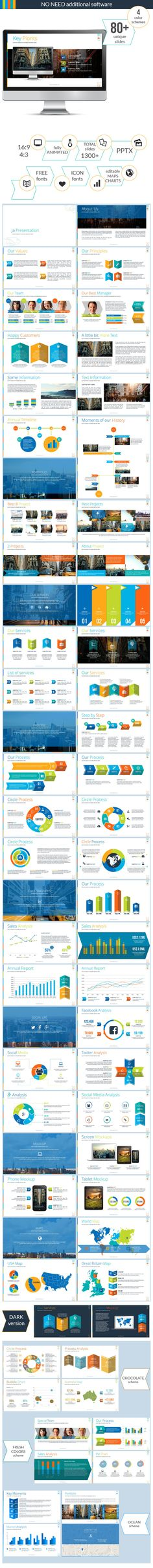 H2 Plus Multipurpose PowerPoint Presentation Template Http\/\/www - interactive powerpoint template