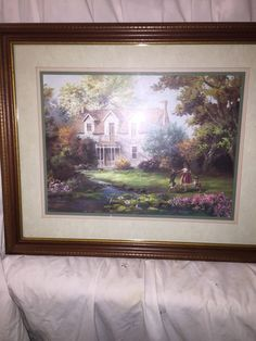 Wall Picture Home Decore Frame Glass Interior Photo Lee Perkinson 89 Interior Photo, Picture Wall, Worlds Largest, Antiques, Frame, Glass, Pictures, Painting, Ebay