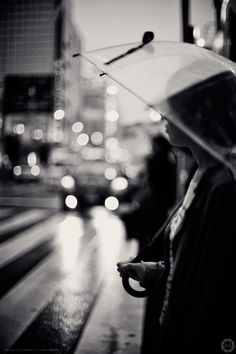 #Tokyo In The Rain | Waiting to Cross by Alfie Goodrich