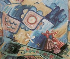 Josef Capek1936SingingGirls Cubism, Impressionist, Modern Art, Literature, Graphic Design, Blog, Illustration Children, Painting, Children Books