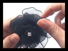 ▶ How to Make Nylon Stocking Boutonniere - YouTube