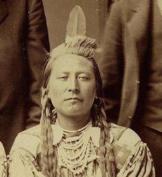 Chief Plenty Coups 1880, by C.M. Bell
