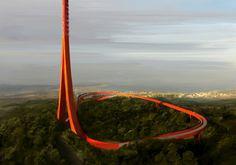 Mit Blick auf die Dardanellen - Powerhouse gewinnt Wettbewerb für Funkturm in der Türkei