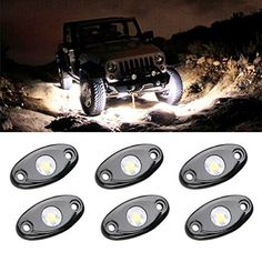 LED Rock Light Kits with 6 pods Lights for JEEP Off Road ...
