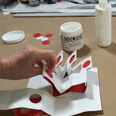 Making Handmade Books; Instructions: A Version of the Gallery Book