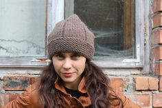 Winter Hat mens winter hat womans winter hat slouchy by GeromeSM, $29.50
