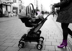 Crezco con el niño! Silla de auto #PIPA en la silla de paseo #PEPP.  @nunaspain