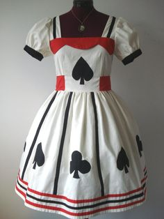 Alice In Wonderland Spades And Clubs by Loliposh on Etsy, $125.00