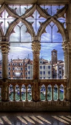Ca d'oro - second floor, Grand Canal, Venice, Italy