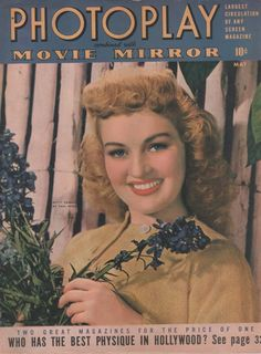 Betty Grable on the May 1942 Photoplay