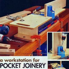 Pocket Joinery Workstation - Joinery Tips, Jigs and Techniques | WoodArchivist.com
