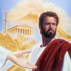 A mão de Satanás oferecendo a Jesus todos os governos e reinos do mundo