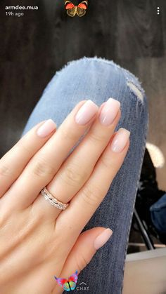 French Ombre Nails with Gold Glitter; baby boomer; coffin nails; ombre nails; ac...  <br> Manicure Gel, Opi Nails, Coffin Nails, Manicures, Gel Pedicure, Pedicure Colors, Pink Coffin, Nail Nail, French Tip Acrylic Nails