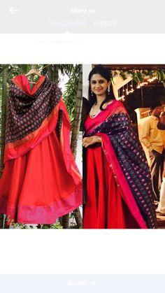Anarkali Red suit
