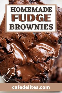 These homemade fudge brownies are pure chocolate heaven. This brownie recipe guarantees that you will never go back to a boxed brownie mix, let alone try another brownie recipe. These are super fudgy, easy-to-make brownies that are ready to eat about 15 minutes after pulling them out of the oven. Each brownie comes full of melted chocolate chunks throughout.