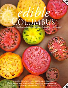 Columbus Ohio Food Photographer, Edible Columbus Summer 2011 cover by Photo Kitchen