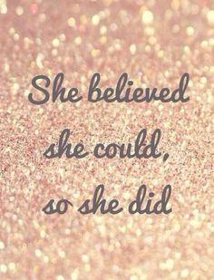 She Did!!