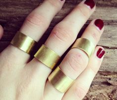 Finger Cuff Ring Set  by Gramercy Eight