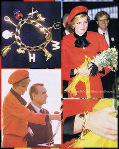 Princess Diana's Charm Bracelet...