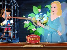 *PINOCCHIO & THE BLUE FAIRY ~ Pinocchio, released February 7, 1940