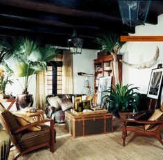 Ralph Lauren Home #Cape_Lodge Collection  1A - Living area general view