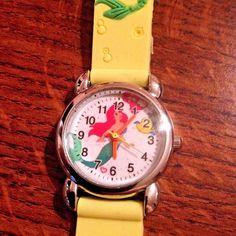 New Yellow LITTLE MERMAID  Girls Silicone Watch 3-D  | eBay
