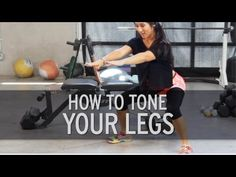 Hot Legs Workout -- How to Tone Your Legs by XHIT Daily