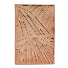 Palm canvas, panel F – Poggi Ugo – Terracotta Impruneta Estilo Tropical, Beach Furniture, Mall Design, 3d Panels, Concrete Design, Handmade Tiles, Restaurant Interior Design, Decorative Panels, Wall Cladding