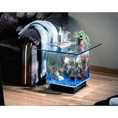 Aquarium furniture ideas, DIY, design, inspiration, old tv, iPad, modern, glasses, art deco, sweets, unique, fun, coffe, kids rooms, terrarium, link, shelves, couch, projects and dining tables for your dream homes